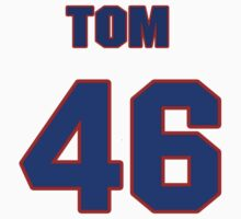 National baseball player Tom Gilles jersey 46 by imsport