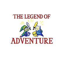 The Legend of Adventure  Photographic Print