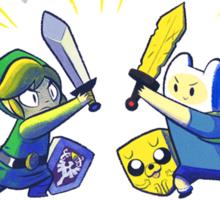 The Legend of Adventure  Sticker
