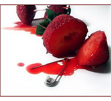 Death of a Strawberry by Tabitha Rowland