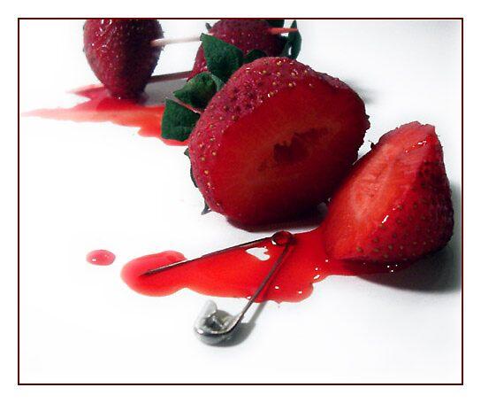 Death of a Strawberry by Tabitha Rowland