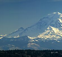 Mount Rainier Panorama by Bryan Peterson