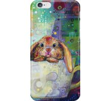 Bunny in a teacup iPhone Case/Skin