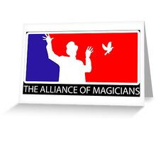 The Alliance of Magicians Greeting Card