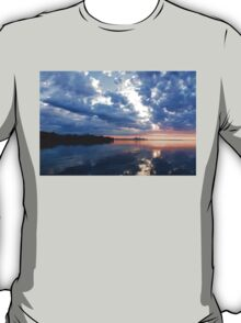 Blue Morning Zen - Toronto Skyline Impressions T-Shirt