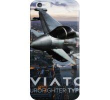Eurofighter Typhoon Jet Fighter iPhone Case/Skin