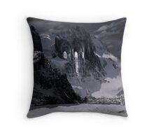 Sanctuary or snow mountain enter Throw Pillow