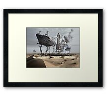 Dehydration Framed Print