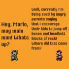 Mario Legal trouble by LasTBreatH