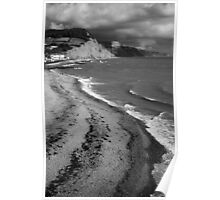 SIDMOUTH SHORELINE Poster