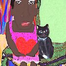 Mrs. Jones and Bebop the Cat by F. Magdalene Austin