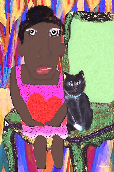 Mrs. Jones and Bebop the Cat by F. Magdalene Austin