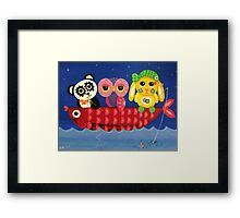 Chill Out Framed Print