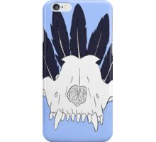 skull n' feathers iPhone Case/Skin