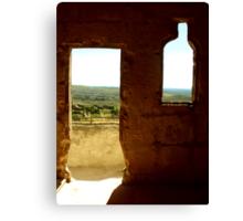 The view from Les Baux de Provence Canvas Print