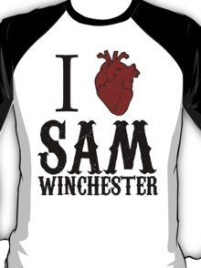 Anatomical Love - Sam Winchester T-Shirt