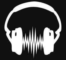 Headphone, Music, Disco, Dance, Electro, Trance, Techno, Wave, Pulse,  Kids Clothes