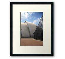 Architecture's Contrasts Framed Print