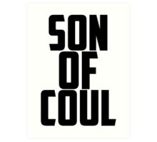 Agent Son of Coul Art Print