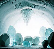 Icehotel Jukkasjärvi, in northern Sweden by Nicola  Mulryan