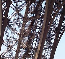 Base Frame of the Eiffel Tower by darquette