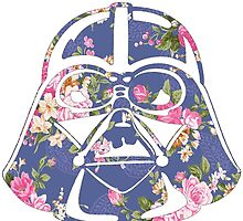 I Am Your Father Floral Helmet Design by hellosailortees