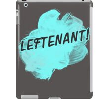 LEFTENANT! iPad Case/Skin