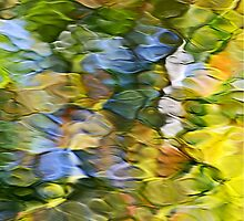 Sycamore Mosaic Abstract Art by Christina Rollo