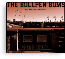 The Bullpen Bums 2015 Canvas Print