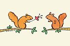 Tickle Tickle Little Squirrel by zoel