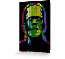 TECHNICOLOR FRANKIE Greeting Card
