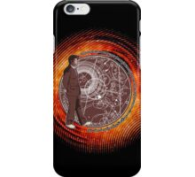Wibbly Wobbly - Brown iPhone Case/Skin