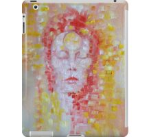 David Bowie Ziggy Stardust painting iPad Case/Skin