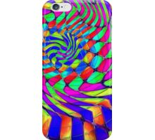 Tumblr 33 by CAP - MAGIC MOVING Optical Illusion Psychedelic Design iPhone Case/Skin