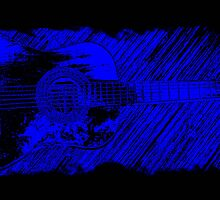 blues guitar by SNAPPYDAVE