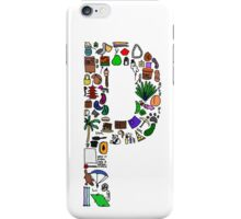 BS ABC's: P iPhone Case/Skin
