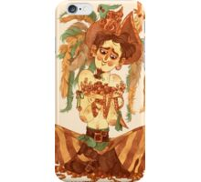 pirate finds his treasure iPhone Case/Skin