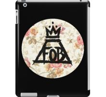 Fall Out Boy Floral iPad Case/Skin