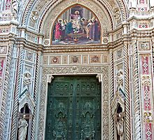 Duomo Front Door by Tom Gomez