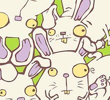 Crazy Bunnies by mandu-pl