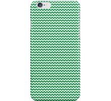 Green Chevrons iPhone Case/Skin