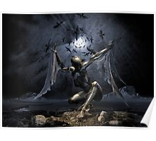 Dreams of Flying or Sleep Paralysis Poster