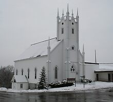Petitcodiac Baptist Church by Leanne Davis