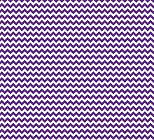 Purple Chevrons by wrapsio