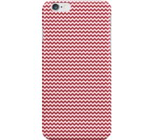 Red Chevrons iPhone Case/Skin