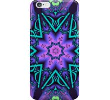Decorative star in an artistic kaleidoscope iPhone Case/Skin