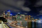 Circular Quay at Night VIII by andreisky