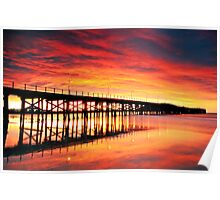Coffs Harbour Sunrise Poster