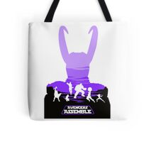 Avengers Assemble Poster Design Tote Bag