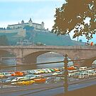 Wurzburg, Castle and Bridge by Priscilla Turner